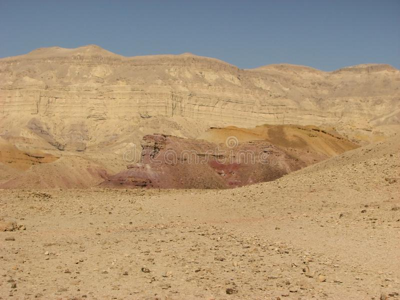 Download Crater In Negev Desert Royalty Free Stock Photos - Image: 12368018