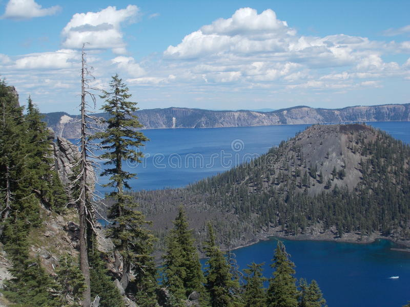 Crater See-Nationalpark lizenzfreie stockfotos