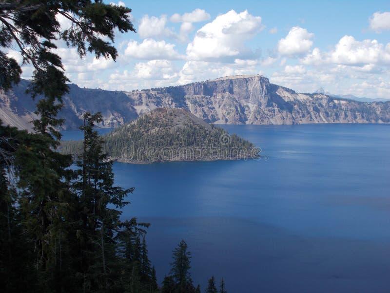 Crater See-Nationalpark stockbild