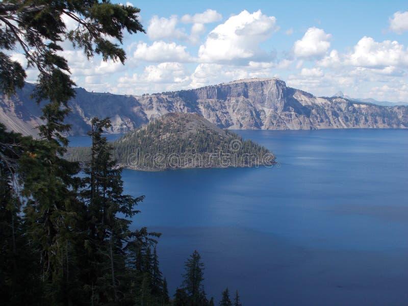 Crater See-Nationalpark lizenzfreie stockbilder