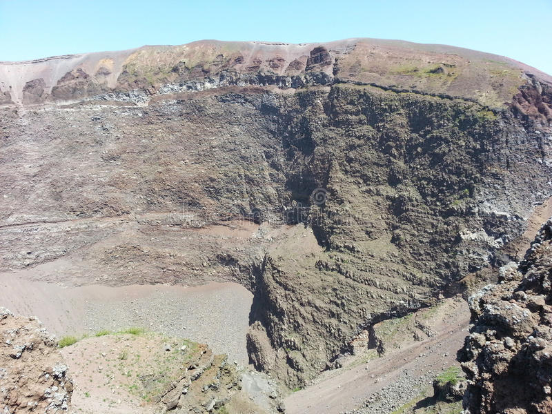 Download Crater Of The Volcano Vesuvius Stock Photo - Image: 38442030