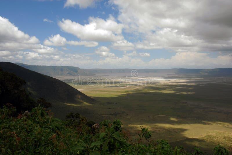 Cratera de Ngorongoro foto de stock royalty free