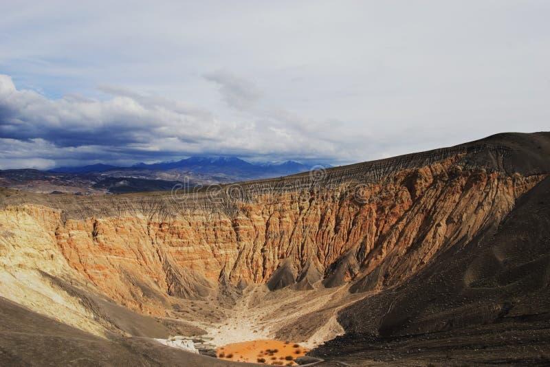 Cratera de Ubehebe fotografia de stock