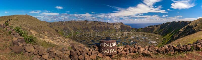 Cratera vulcânica fotos de stock royalty free