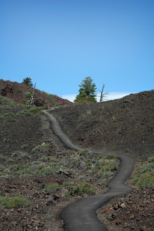 Crateras da lua, Idaho, EUA imagem de stock