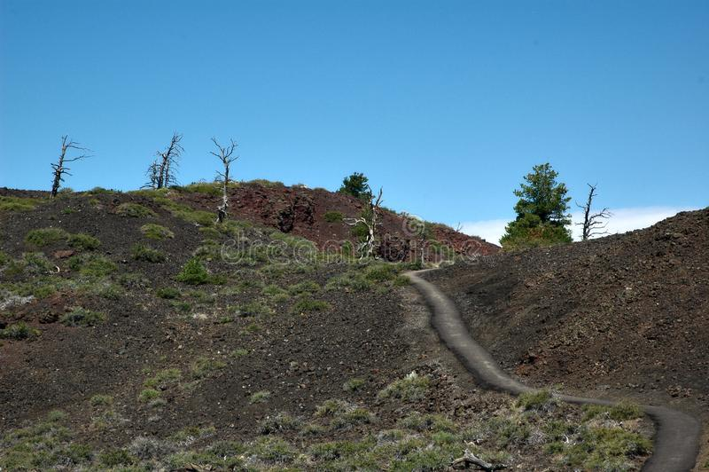 Crateras da lua, Idaho, EUA foto de stock royalty free