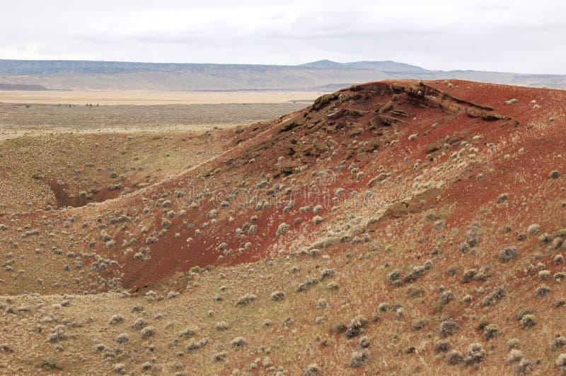 Crateras do diamante, Oregon imagens de stock royalty free