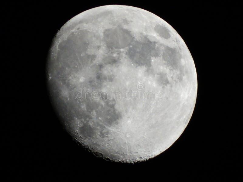 Crateri lunari fotografia stock libera da diritti