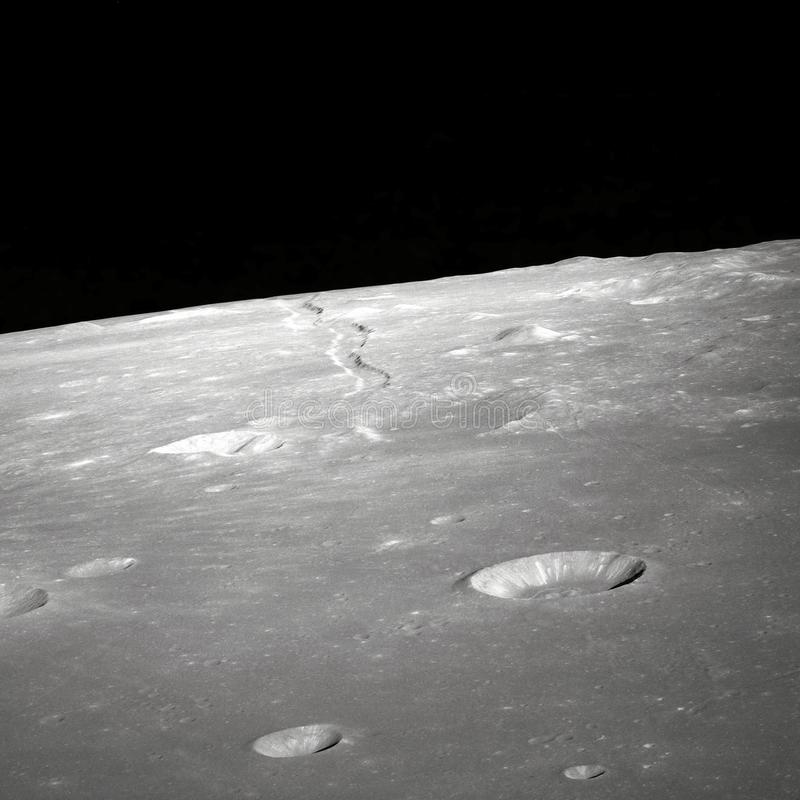 Craters On Lunar Surface Free Public Domain Cc0 Image