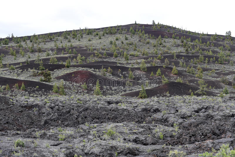 Craters of the Moon National Monument & Preserve, Arco, Idaho stock image