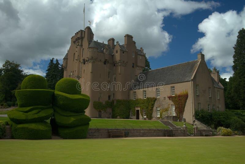 Crathes Castle στοκ φωτογραφία με δικαίωμα ελεύθερης χρήσης