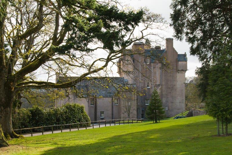 Crathes Schloss in Schottland stockbild