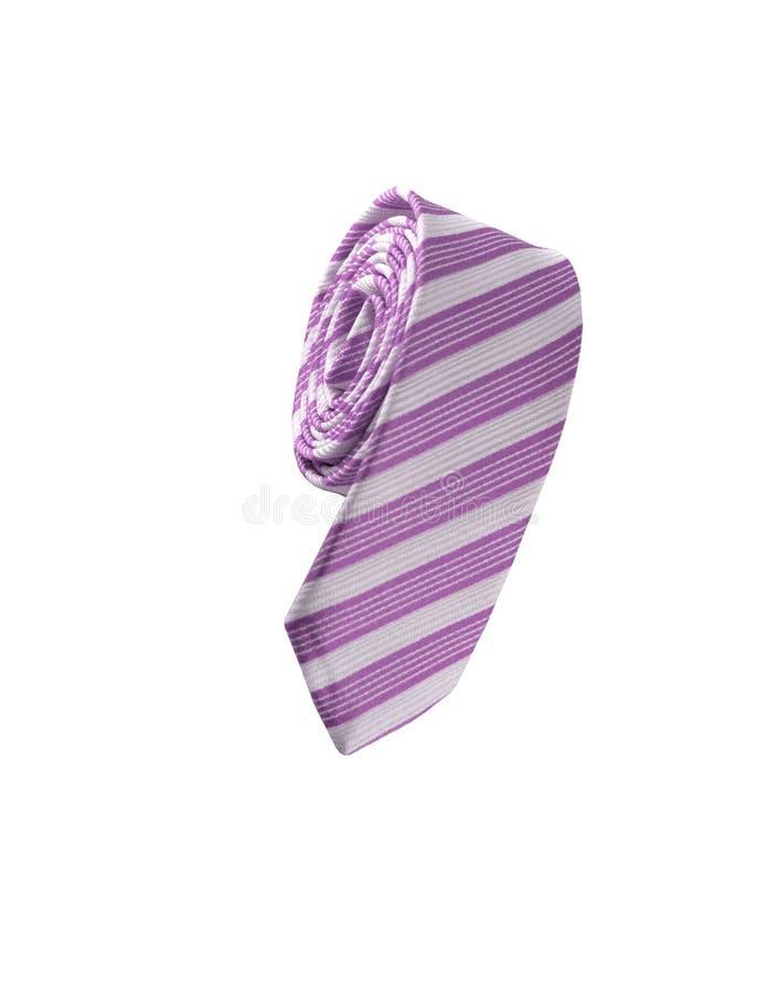 Cravate pourpre images libres de droits
