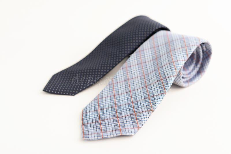 Cravates à la mode photographie stock