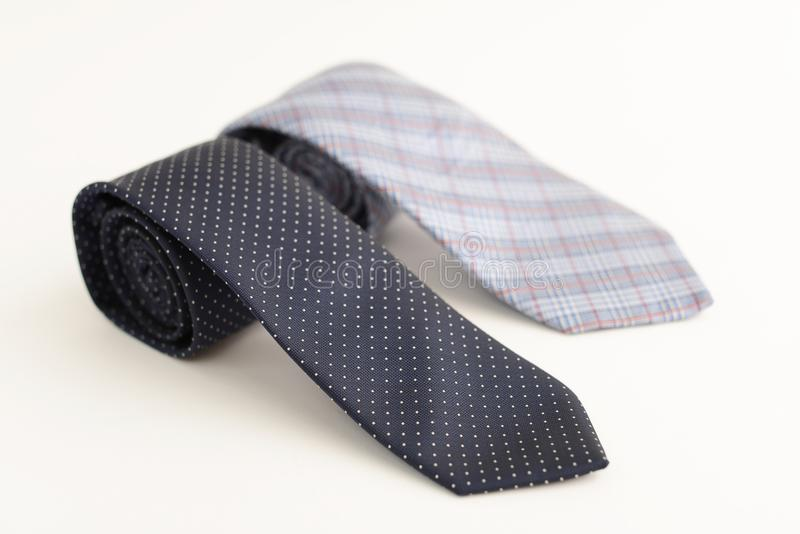 Cravates à la mode photos stock
