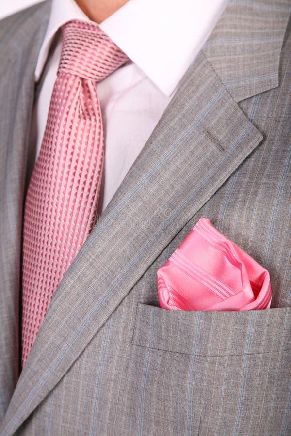 Cravatta del vestito degli involucri fotografia stock libera da diritti