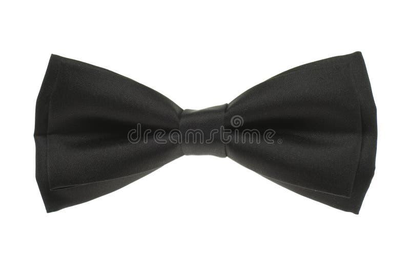 Cravatta nera del Mens fotografia stock
