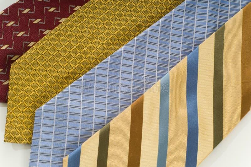 Cravatte di seta immagini stock
