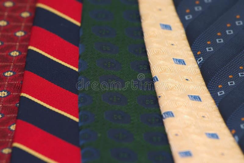 Cravatte I Fotografia Stock