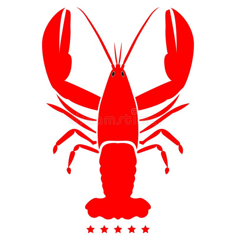Free Craw Fish Icon Illustration Color Fill Style Stock Photo - 107907990