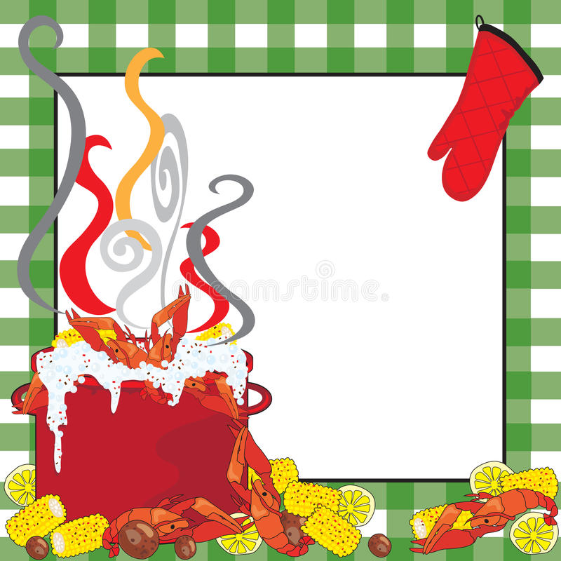 Free Crawfish Boil Invitation Royalty Free Stock Photos - 20104738