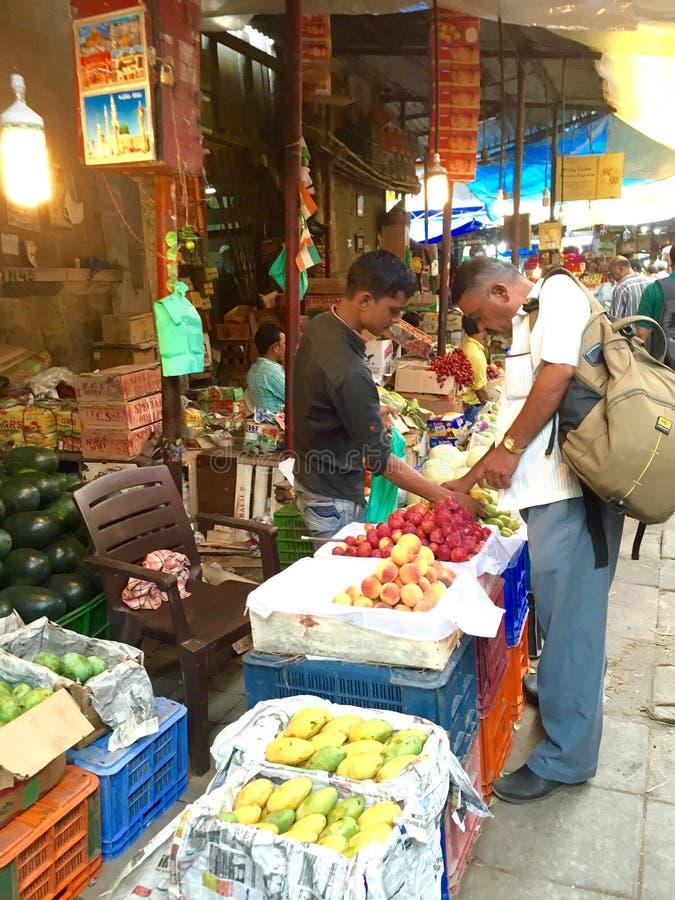Crawford Market Scenes fotografia stock libera da diritti