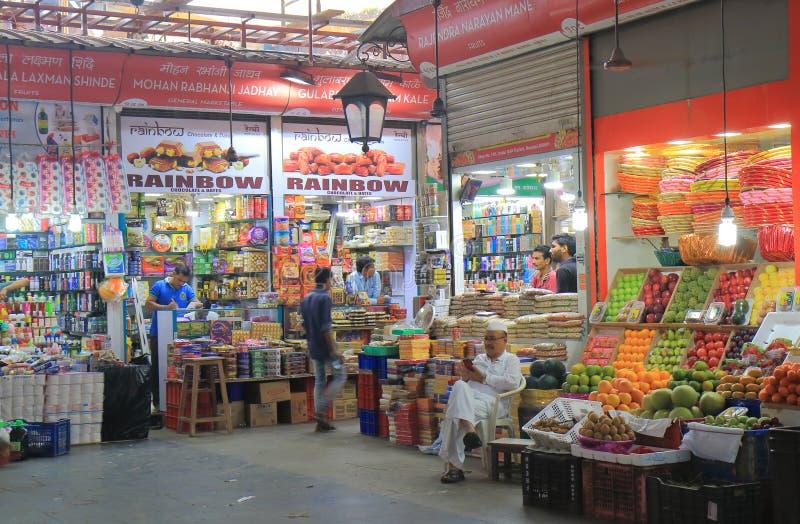 Crawford-Markt Einkaufsmumbai Indien lizenzfreies stockfoto