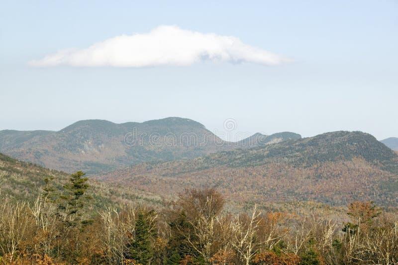 Crawford Notch State Park in den weißen Bergen von New Hampshire, Neu-England stockfoto