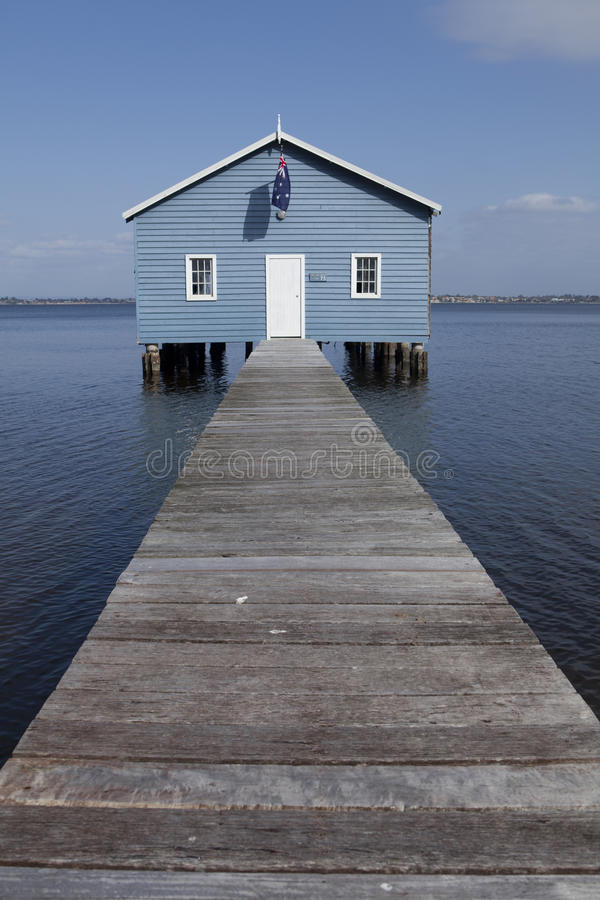 Crawley Boatshed, Perth photo stock