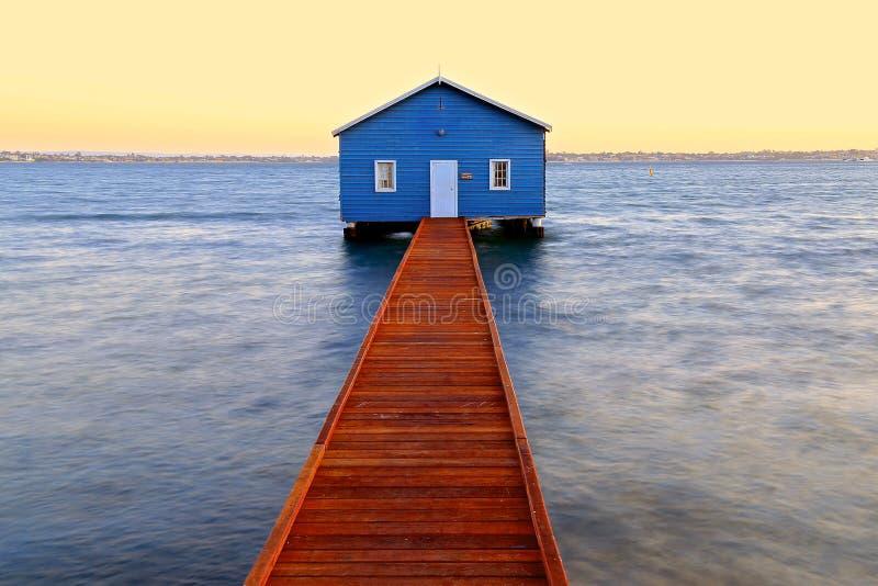 Crawley krawędzi Boathouse obraz royalty free