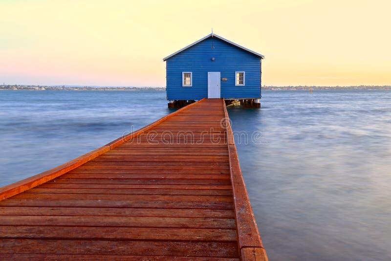 Crawley krawędzi Boathouse zdjęcie stock