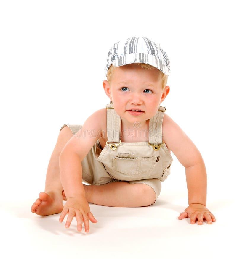 Download Crawling boy stock photo. Image of eyes, babies, crawl - 1057346