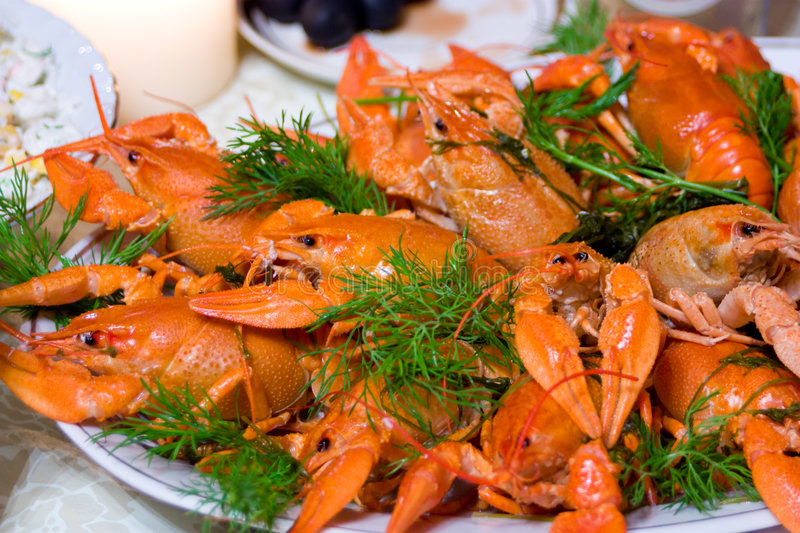 Download Crayfish stock photo. Image of cooked, claw, gourmet, healthy - 7529834