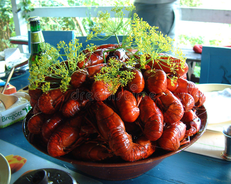 Download Crayfish party stock image. Image of crayfish, beer, summer - 106559