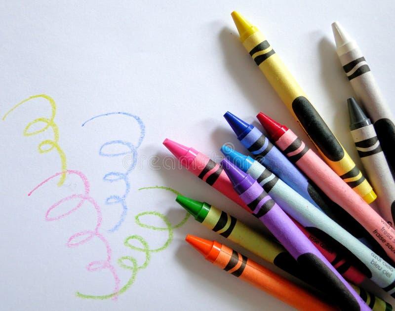 crayon искусства стоковое фото