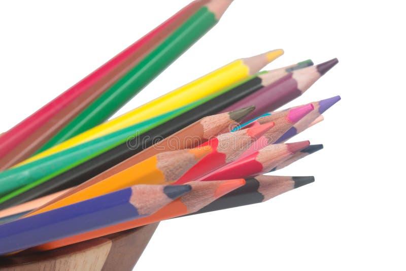 crayon royaltyfri fotografi