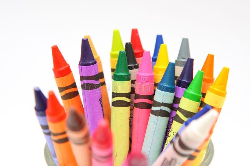 crayon royaltyfri bild
