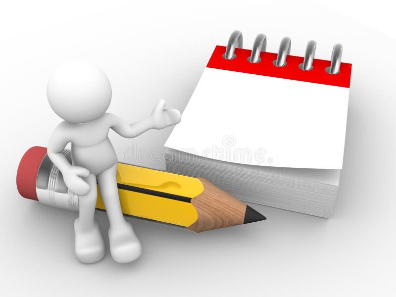 Crayon illustration de vecteur