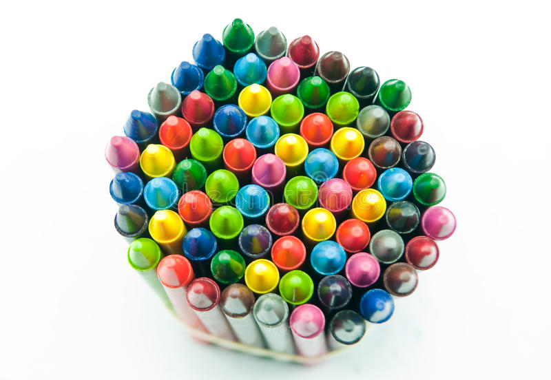 Download Crayon stock photo. Image of group, pink, college, arrangement - 25451160