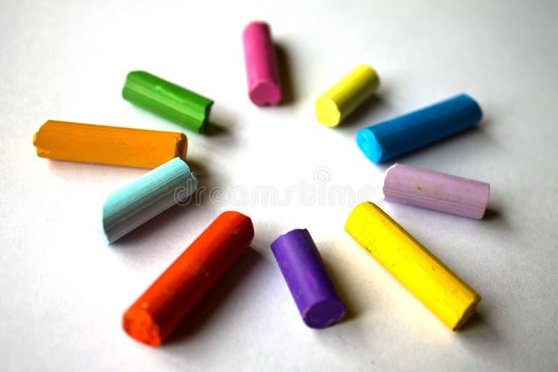 crayon royaltyfria foton
