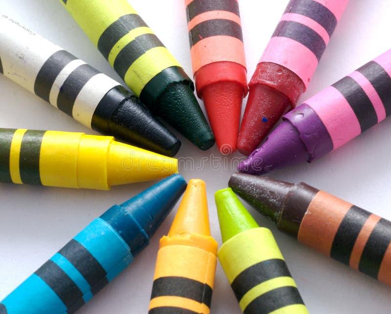 crayon 5 arkivbilder