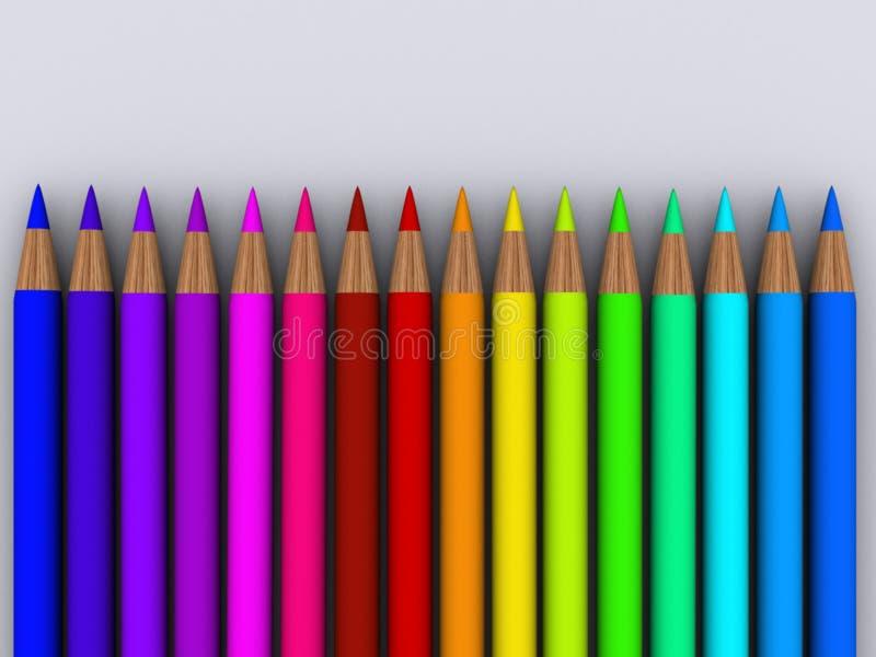 Crayon 6 illustration stock