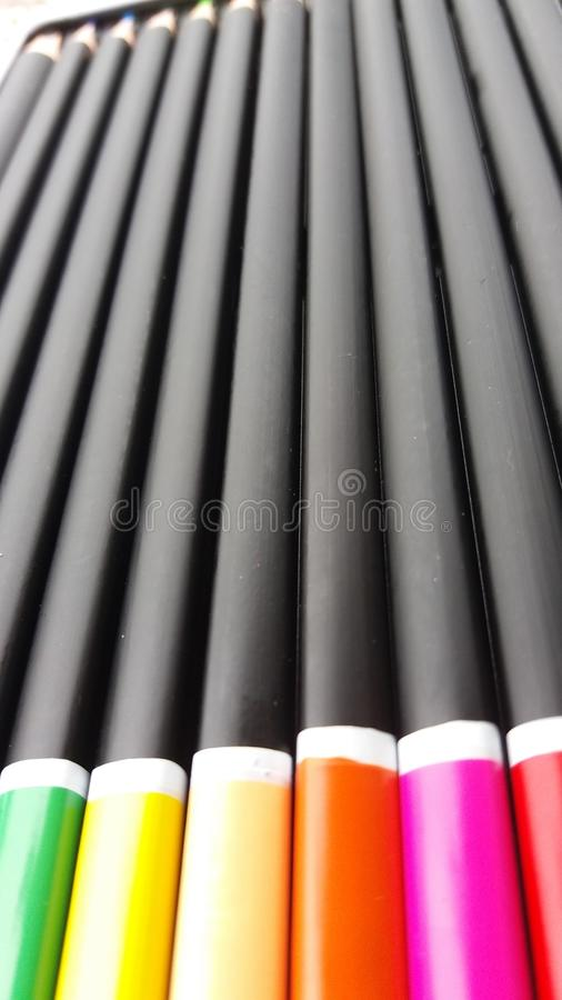 Crayon photos stock