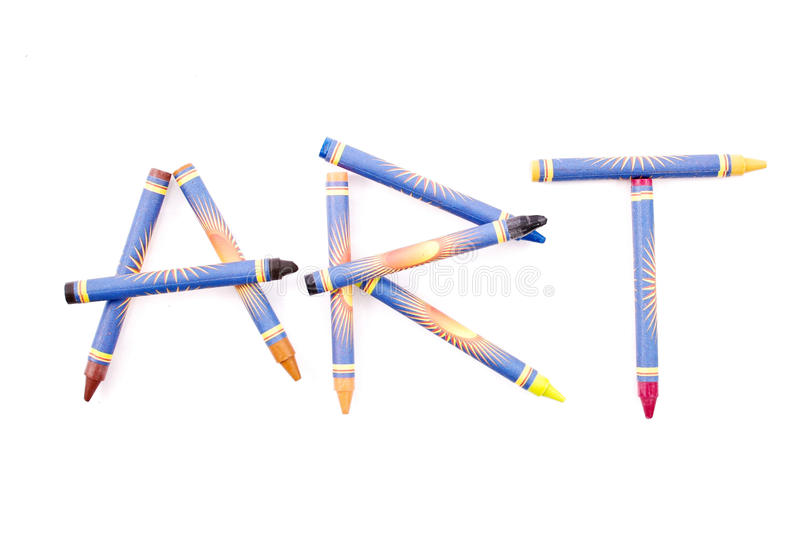 Download Crayon Art Stock Photo - Image: 22594180