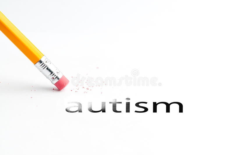 Crayon avec la gomme images libres de droits