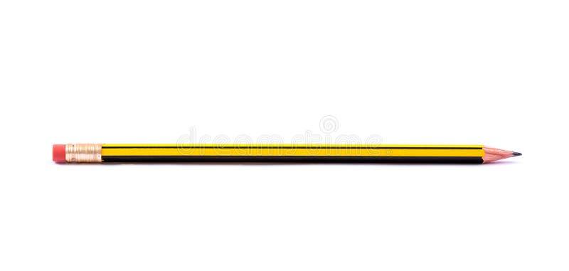 Crayon avec la gomme photo libre de droits