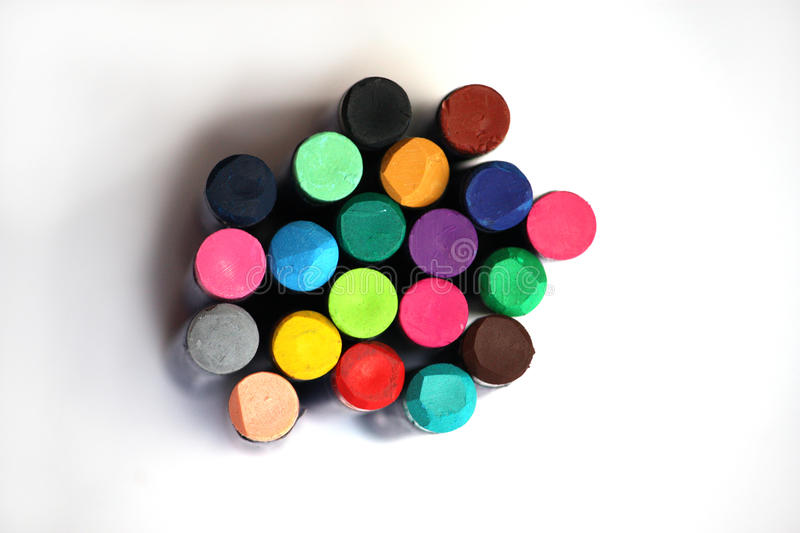 Download Crayon bright colours stock image. Image of different - 10568931