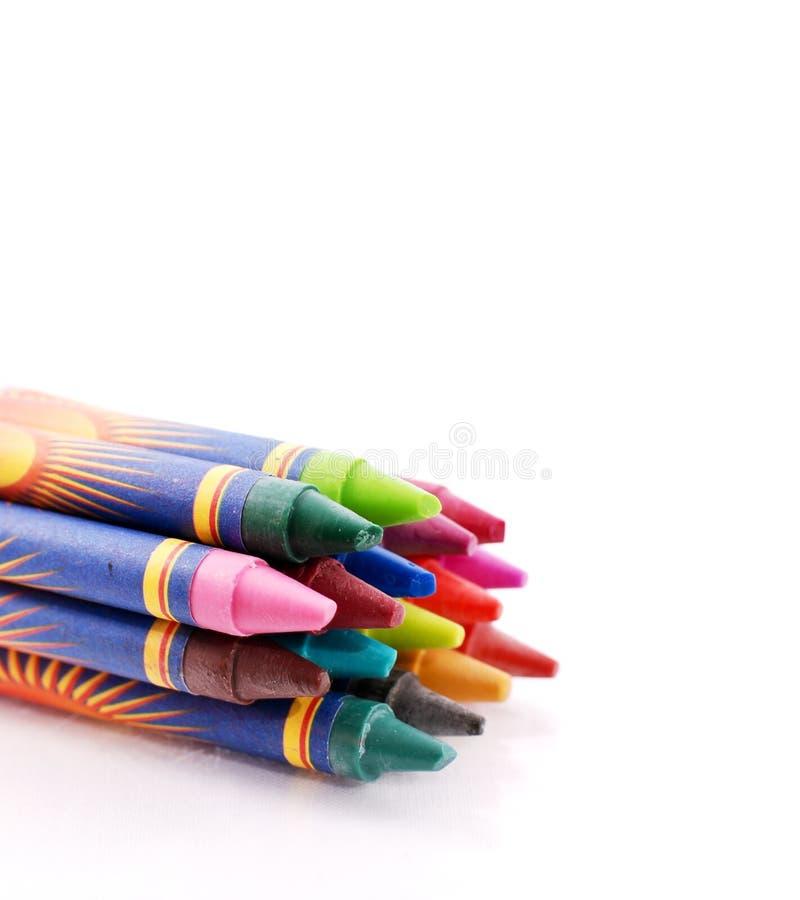 Download Crayon Bundle stock photo. Image of bright, creative - 22377038