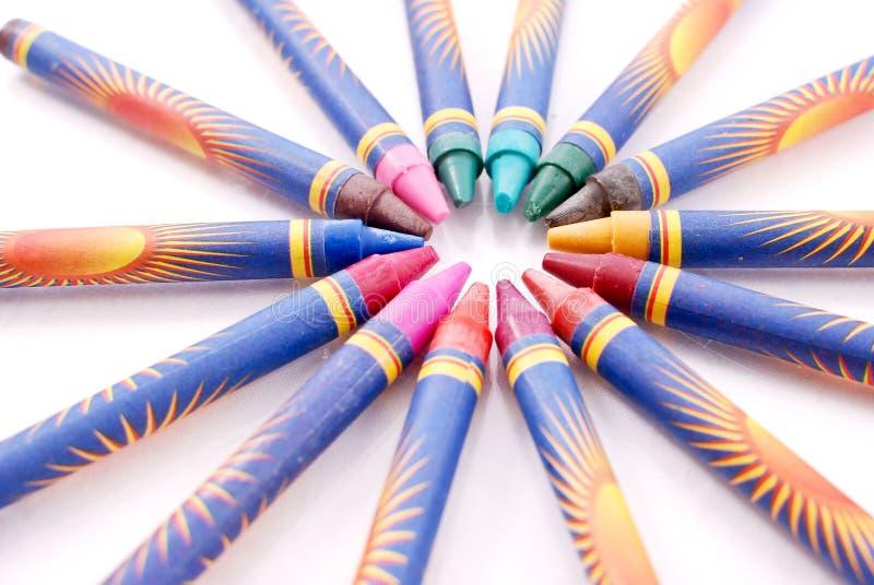 Download Crayon Circle stock photo. Image of education, craft - 22377042