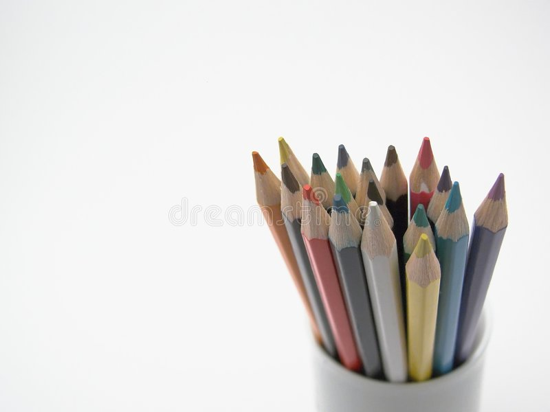 Crayon coloré photographie stock libre de droits
